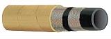"Kuriyama T130AK050X100 Steel Wire-Reinforced Air Hose, Yellow Cover, 1/2"" ID"