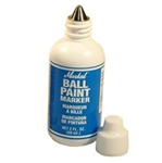 Markal 84624 Ball Paint Marker Metal Tip, Plastic Bottle Orange, Each