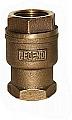 "Legend Valve 105-626 1-1/4"" T456 PTFE Ball Check Valve, In-Line, Bronze"