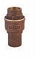 "Legend Valve 105-637 1-1/2"" S456 PTFE Ball Check Valve, In-Line, Bronze"