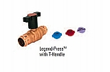 "Legend Valve 101-104 3/4"" ""T"" HANDLE Legend-Press Ball Valve"