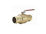 "Legend Valve 101-007 1-1/2"" Legend-Press Ball Valve, Full Port, Press To Connect"