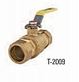 "Legend Valve 101-453 1/2"" T-2009 Ball Valve with Compression End"