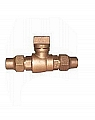 """Legend Valve 314-108 2"""" T-5200 Flare x Flare Curb Stop"""