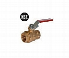 "Legend Valve 101-057 1-1/2"" T-1001LD Ball Valve, Full Port O Ring Design Locking Device"