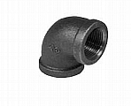 "Legend Valve 350-008C 2"" Black 90 Deg Elbow"
