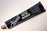 Nissen LCBKB Black Low Chloride Metal Markers Point Size:3/16""