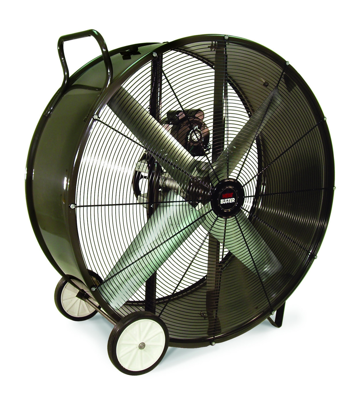 Triangle Fans TPC 4215 Heat Busters Portable Blower Fan, Belt Drive